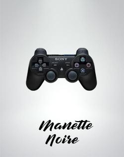 Manette Sony Noir