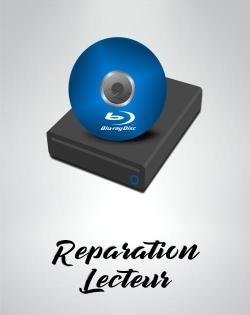 Reparation lecteur blu ray disque PS4 slim fat pro