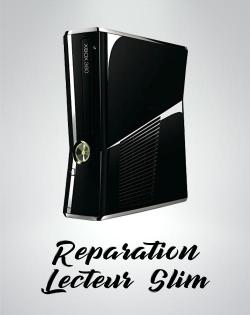 Reparation lecteur XBOX 360 slim