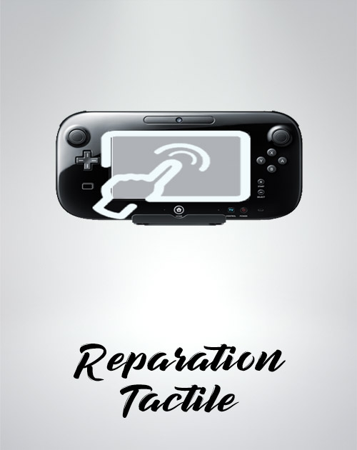 Réparation ecran tactile Gamepad Wii U