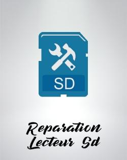 Reparation remplacement lecteur de carte sd nintendo wii