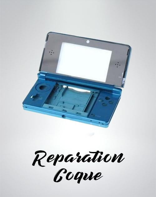 Reparation de votre coque cassé sur votre Nintendo DS.