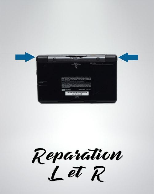 Remplacement des boutons L & R déféctueux sur votre Nintendo DS.