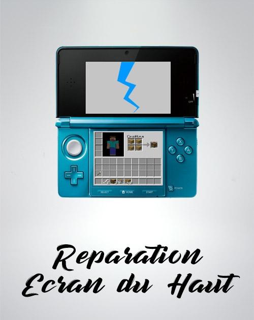 Remplacement Ecran du haut de la Nintendo DS.