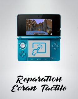 Reparation ecran tactile console nintendo ds