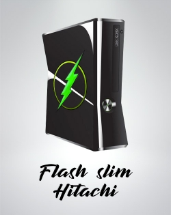 Flash XBOX SLIM Lecteur Liteon 16GD5S - Hitachi