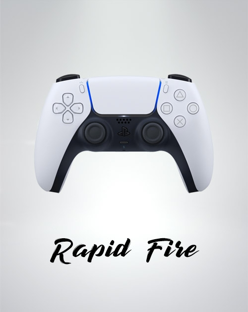 Manette rapid fire ps5