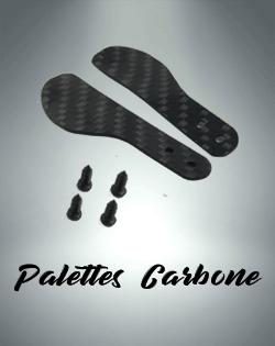 Palette Carbone manette playstation 4 et playstation 5