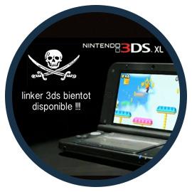 La 3ds enfin hackée !! Le linker disponible fin juin.