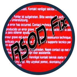 Tutoriel : corriger un RSOD PS3, erreur de spoof etc…….