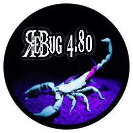 Rebug 4.80.1 REX et D-REX disponible en téléchargement