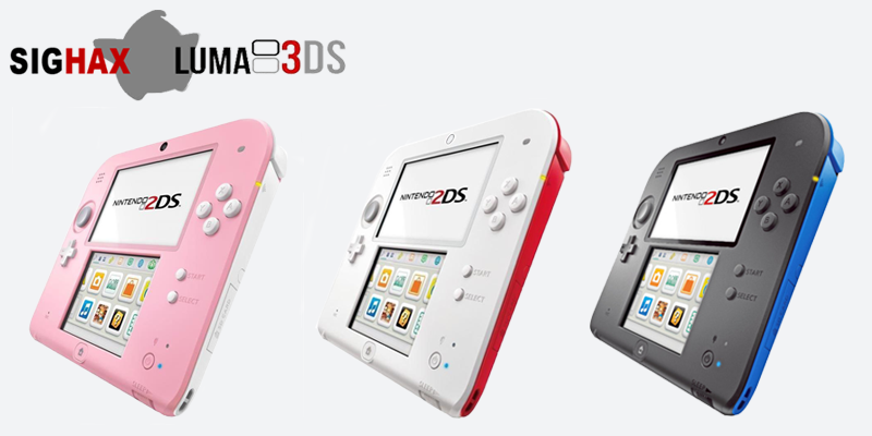 2DS avec console CFW LUMA 3DS.png