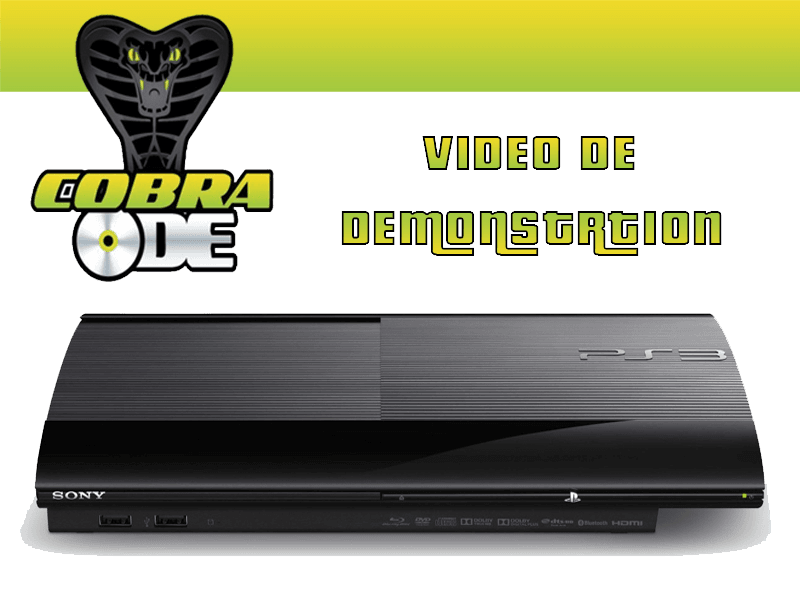 ACHAT PS3 ultra SLIM COBRA ODE