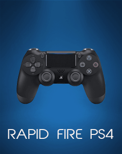 Achat manette PS4 rapid fire