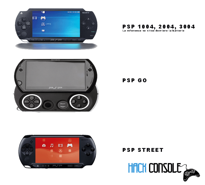 Modele PSP flashable CFW