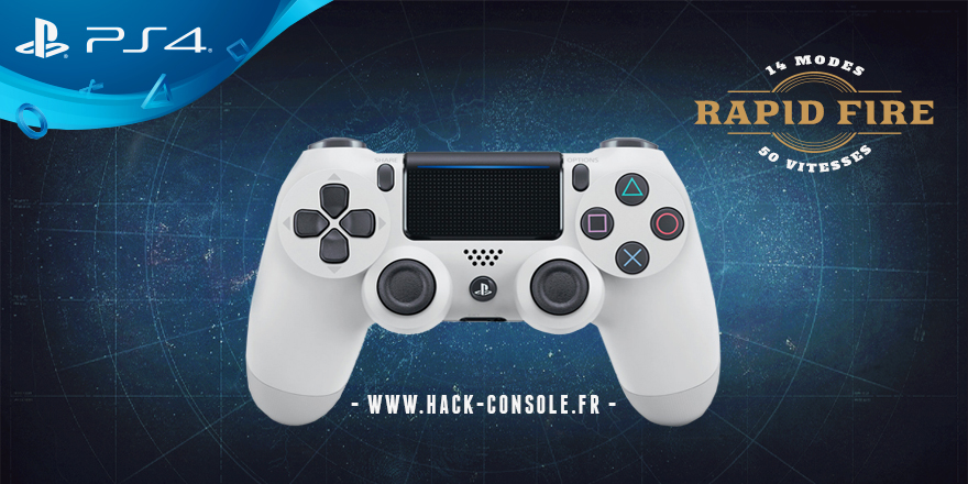 Manette Rapid fire PS4
