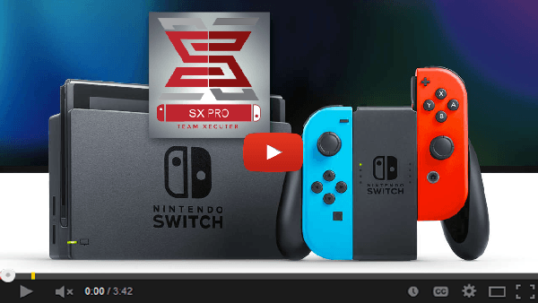 switch SX PRO revue tutoriel